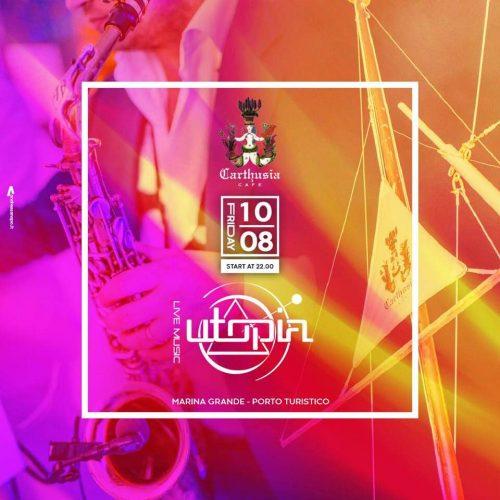 LIVE MUSIC AL PORTO TURISTICO DI CAPRI IN OCCASIONE DELLA \
